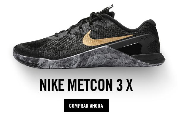 Nike Metcon Black&Gold Mujer