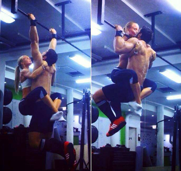 beso crossfiteros