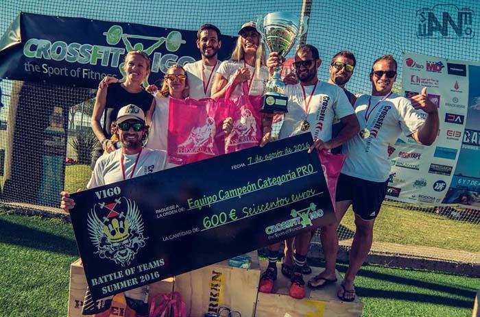 CrossFit Fuengirola vencedores categoría Pro