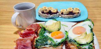 Desayuno huevos