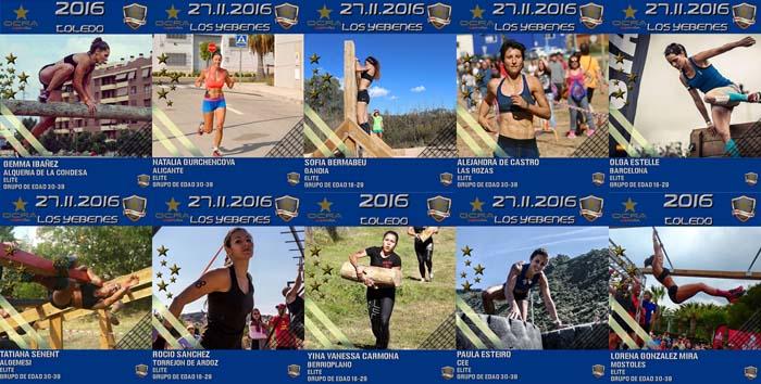 campeonato nacional carreras obstaculos participantes femeninas