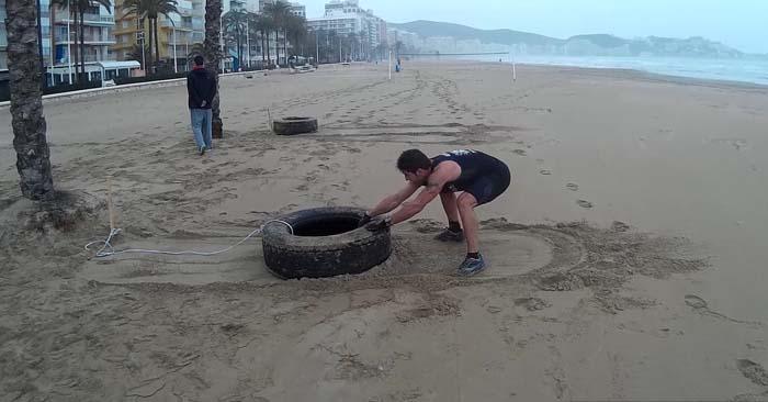 Tire drag
