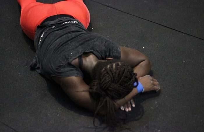 Shella Badaseraye en C23 CrossFit