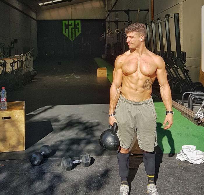 Alexander Anasagasti en C23 CrossFit