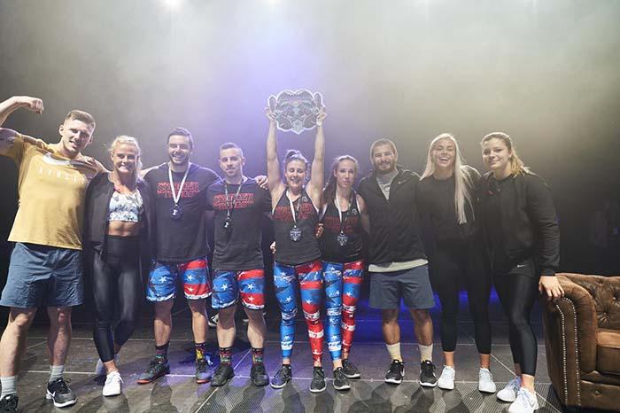 CrossFit 4 friends freakest challenge