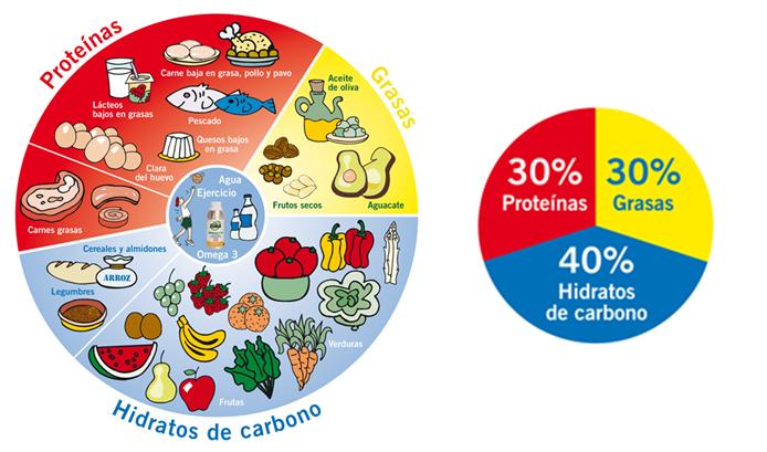 Dieta de las grasas y proteinas